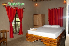Double Bed mud house